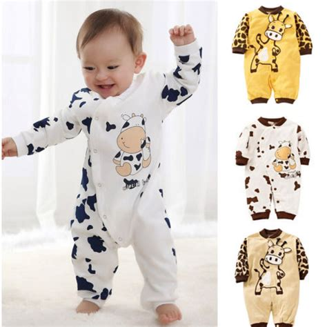 Baby Romper Cardigan Rg H cow newborn boys clothes baby infant romper clothes 0 24m uk in clothing sets