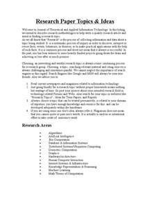 Published Research Papers In Computer Science by 5 College Application Essay Topics For Research Papers Computer Science