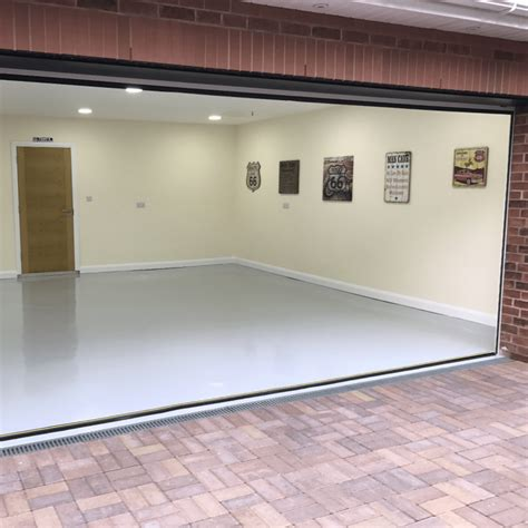 epoxy garage floor paint high build resincoat