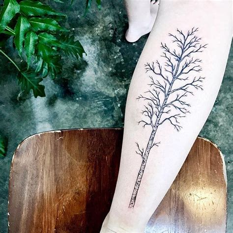 birch tree tattoo 25 best ideas about tree sleeve on tree