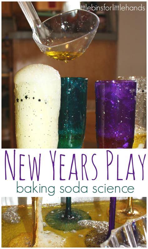 activity new year new years activity baking soda science experiment
