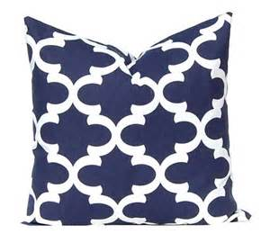 navy blue pillow cover decor blue cushion covers