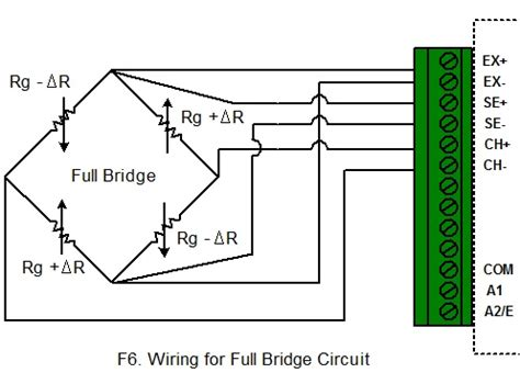 6 wire load cell wiring diagram 6 wire strain wiring