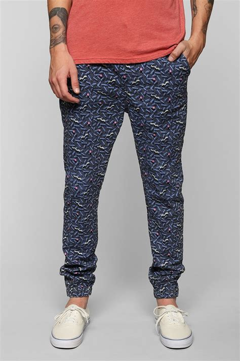 bright patterned joggers where to buy jogger pants for men on a budget