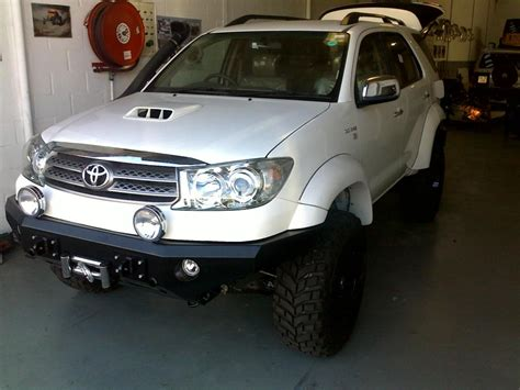 Toyota Fortuner Lift Kit The Toyota Fortuner Fortuner And Bumper Pics