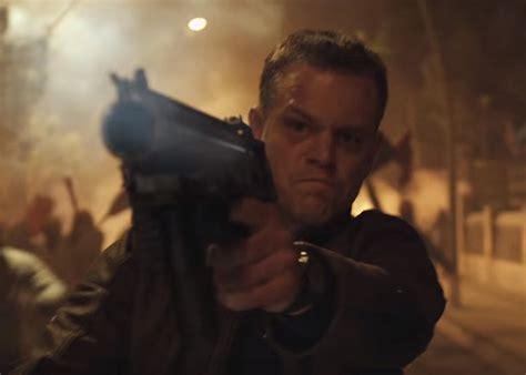 jason bourne 4 matt damon matt damon who is constantly surrounded by guns calls