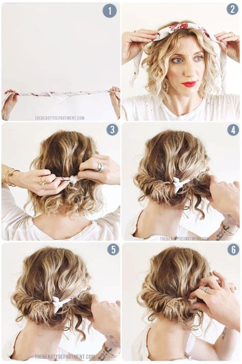 hairstyles w one hair tie the beauty department your daily dose of pretty scarf