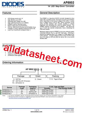 diodes inc address ap8802 datasheet pdf diodes incorporated