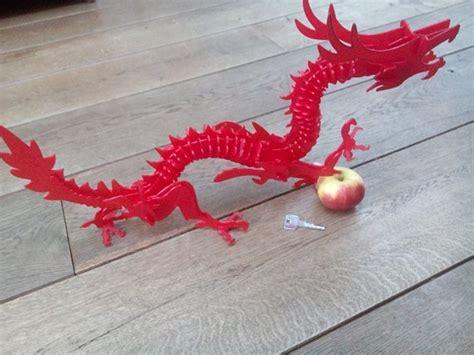 printable dragon puzzle 3d printed 3d printable dragon puzzle by els meulendijks