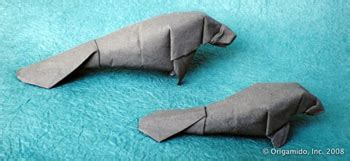 origami manatee 28 images hobbies let s a byte