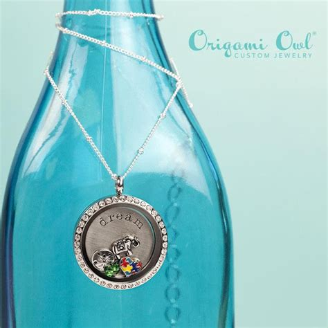 Origami Owl Locket Pictures - autism origami owl living locket origami owl at