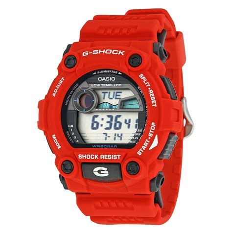 g shock watch products casio casio men s g shock rescue red digital sport watch g7900a