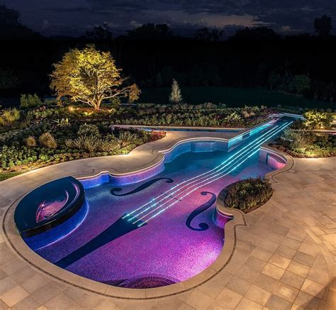 guitar swimming pool pictures photos and images for