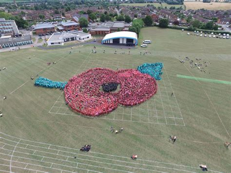 Foreign Legion Criminal Record Legion Care Home Breaks World Record With Human Poppy Cobseo