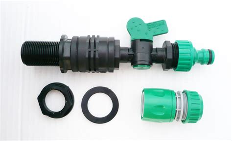 Snap On Plumbing Fittings by 3 4bsp Tank Adapter To Snap On Hose Fitting Inline On Valve C W Connector