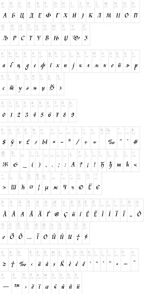 dafont latin kaligraf latin cyr font dafont com