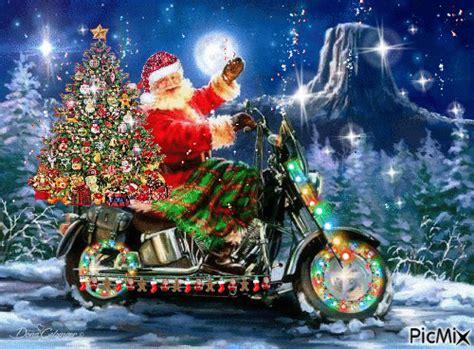 picmix animation christmas biker christmas picmix christmas humor santa