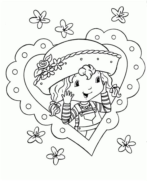 strawberry shortcake coloring pages strawberry shortcake coloring pages