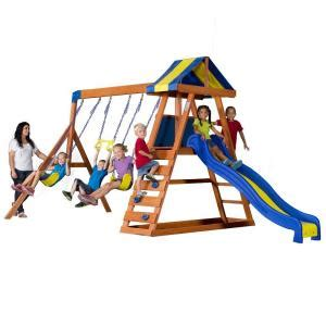 backyard discovery dayton all cedar playset 65014com the