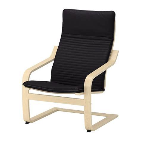 fauteuil ikea poang po 196 ng fauteuil knisa noir ikea