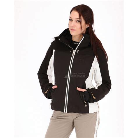 Jas Slim Fit luhta bernilla slim fit ski jacket black skiwebshop