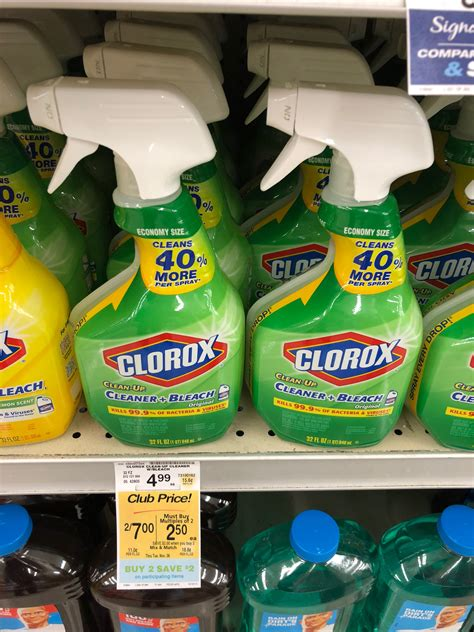 clorox cleaning products  sale  safeway pay     reg  super safeway