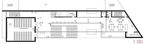 foyer grundriss besucherzentrum mainz grundriss 1og