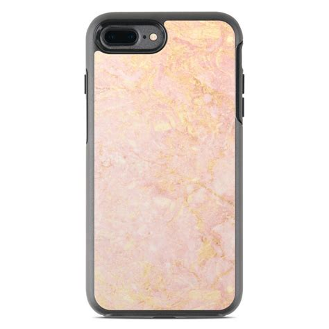 otterbox symmetry iphone   case skin rose gold marble  marble collection decalgirl