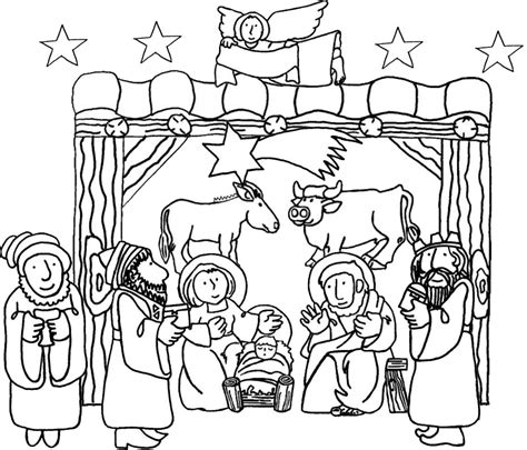 coloring pages of jesus birth birth of jesus coloring pages nativity of jesus coloring
