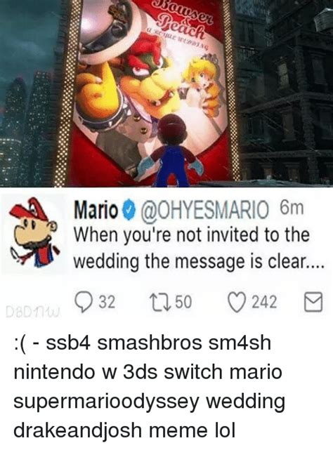 Was Invited To The Wedding