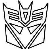 Transformers Logo Coloring Page  Wecoloringpage