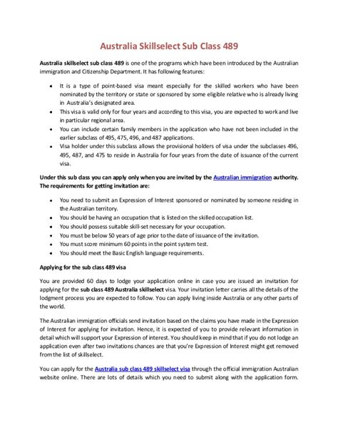 How To Send Invitation Letter For Visa Australia fancy invitation letter for immigration australia with