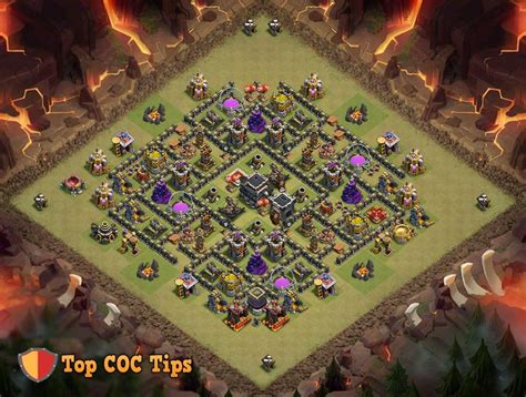coc strong layout 17 best images about clash of clans base designs on