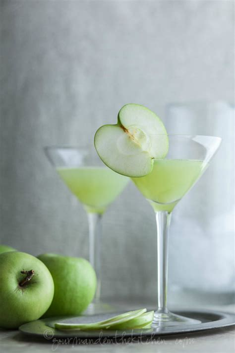 green apple martini green cocktail recipes to welcome saint patrick s day