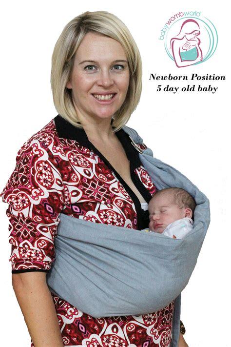 baby sling newborn baby sling babywombworld