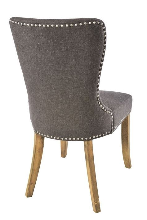 rustic round back upholstered chair for dining room best 25 grey upholstered dining chairs ideas on pinterest