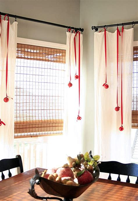 how to decorate curtains waiting for santa ideas on how to decorate your windows