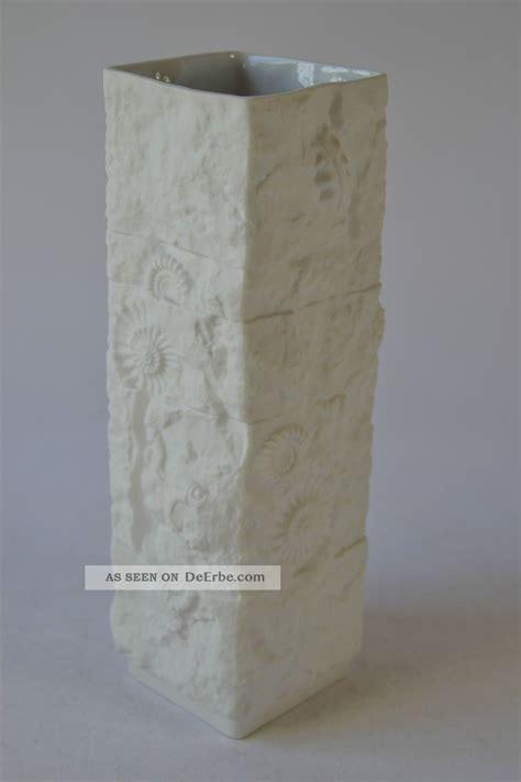 floreros kaiser porzellan vase kaiser fossile ammoniten porcelain vase