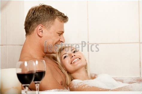 man and woman in bath stock image i2339414 at featurepics