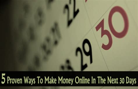 30 Ways To Make Money Online - 09 5 actual ways to make money online www rawanalyst com