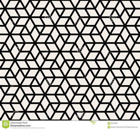 geometric pattern outline vector seamless geometric simple rhombus triangle stars