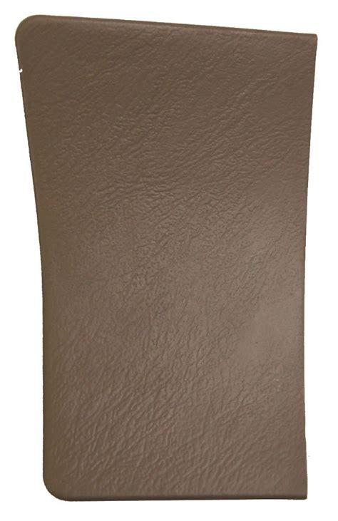 toyota sienna rear  quarter pillar cover oak brown