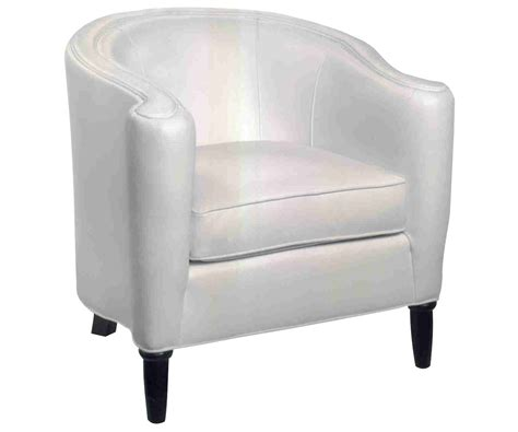 tight back leather accent tub chair clubfurniture com