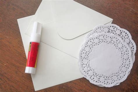 How To Make Paper Doily Envelopes - craft paper envelopes paper crafts ideas for