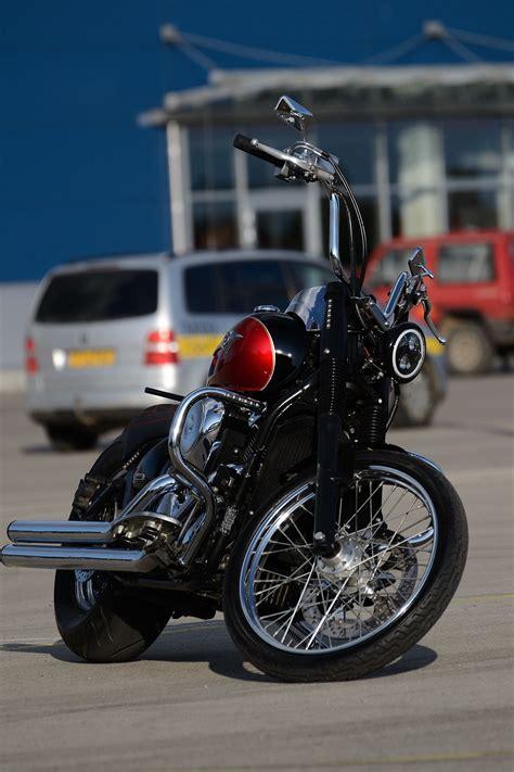 kawasaki vn vulcan bobber chopper bikebound
