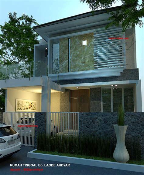 denah rumah minimalis model rumah  lantai  home modern design minimalis desain rumah