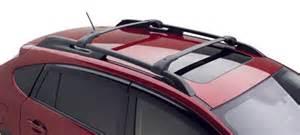 Subaru Crossbars Subaru Xv Crosstrek Crossbar Kit Aero Part No E361sfj100