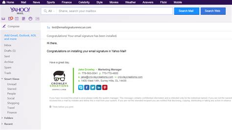 email yahoo how to setup an email signature in yahoo mail