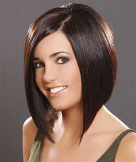 medium length smooth stack bob cuts stacked hairstyles for medium length hair