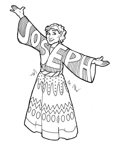 joseph dreamcoat coloring pages joseph coloring page children s ministry deals
